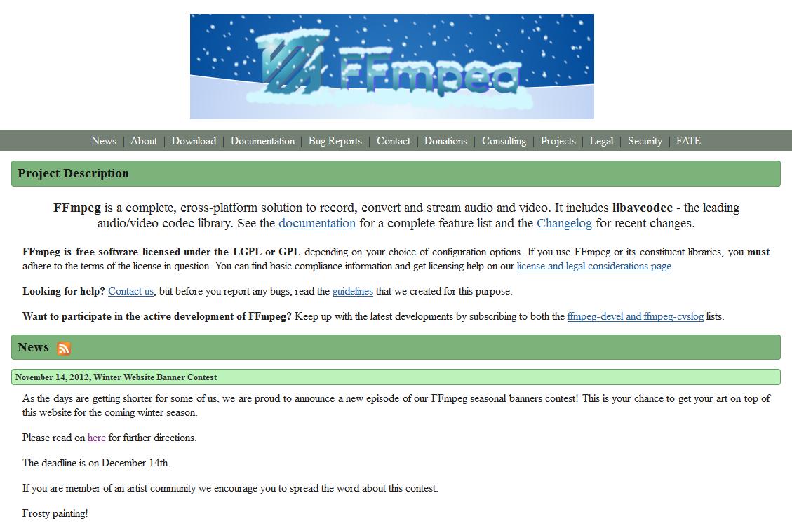 1756 (2013 Winter Website Banner Contest) – FFmpeg