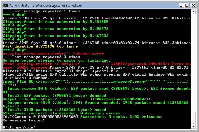 5107 (av_interleave_write_frame() unknow error and crash ffmpeg